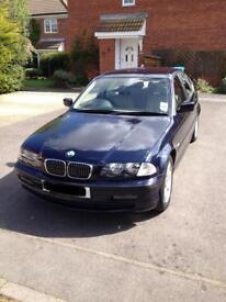 BMW 320i SE Damaged Bonnet