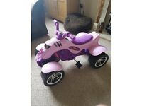 LITTLE GIRLS PINK QUAD BIKE