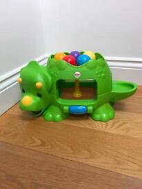 Fisher price double popping dino