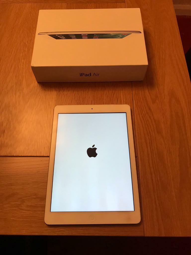Apple iPad Air 64gb wi fi cellular mint conditionin Axminster, DevonGumtree - Mint condition boxed iPad with all cables and adapter, you will revive it as if come from apple, retailed for £800 when new