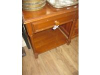 STURDY SINGLE DRAWER OCCASIONAL TABLE