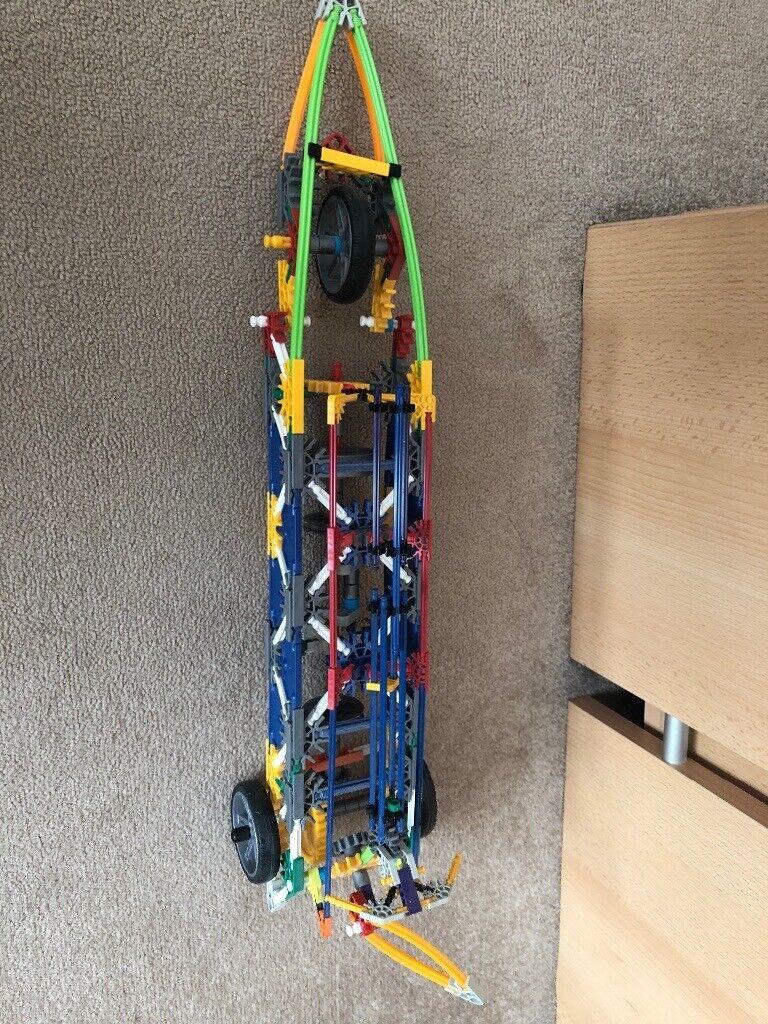 KNEX Land Rocket Building Set