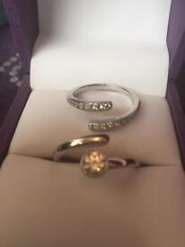 Swarovski crystal ring for sale
