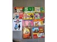 Andy Capp vintage cartoon compilation- Bundle of 11 paperbacks