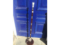 Vintage standard lamp stand . Lovely detail Feel free to view .