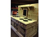 Mud kitchen, FREE delivery in 30miles, Handmade children's outdoor play kitchen