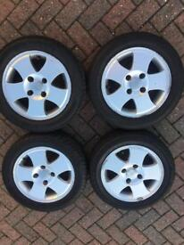 Ford Fiesta Wheels NEW TYRES