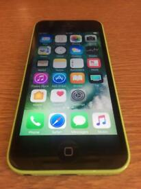 Green iPhone 5c ( very good condition, unlocked)