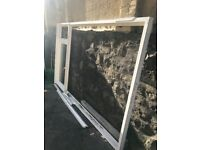 White UPVC Frame