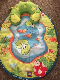 Tiny Love Tummy Time Frog baby play mat