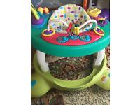 Mothercare 360 Hoola Baby Walker Music and Lights activity centre