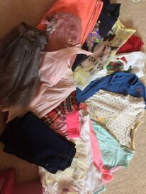 Girls clothes 4-6 years
