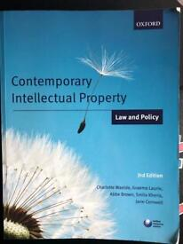 Contemporary Intellectual Property: Law and Policy Cornwell Waelde Laurie Brown 3rd