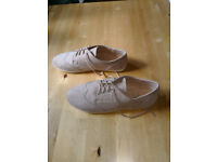 Brand new suede ladies casual shoes by Atmosphere £3