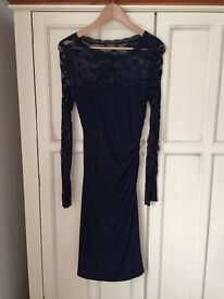Navy Blue Phase Eight Dress Size 10