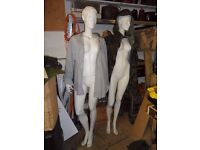 Two full body female mannequins for sale. £60 each.