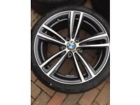 "BMW 442m 19"" alloys and tyres"