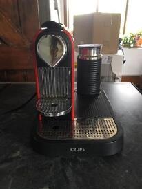 Nespresso Krupz and aerrocino