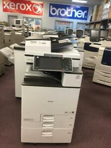 REPOSSESSED Only 5k Pages Ricoh MP C5502 Colour Copy machines copier Fax Printers Scanner Color Photocopiers for SALE