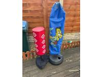 Kids punching bag.