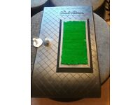 Arnold Palmers chip and drive mat