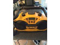 DeWalt radio/charger 110v