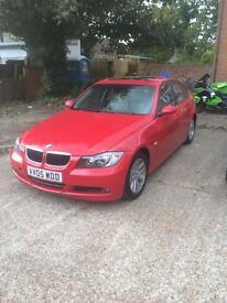 Bmw 320 Auto Petrol Red
