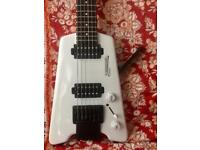 Steinberger Synapse headless guitar DiMarzio Tone zone Air Norton pickups Kiesel Carvin Strandberg