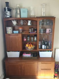 Display/Storage Cabinet with a glass door panel - Perfect condition