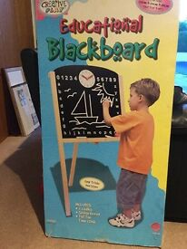 Child's blackboard and stand