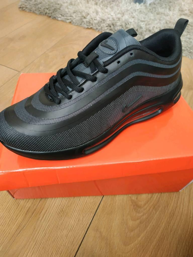 cheap for discount fc1de 4ce09 Nike Air Max 97 Ultra Triple Black