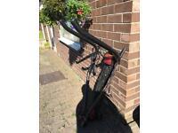 Pendle towbar bike rack