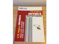 CfE Higher Physics Practice Papers