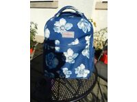 "Cath Kidson ""Scattered Anemone"" Cabin Wheeled Backpack"