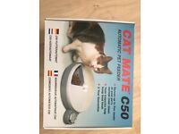 Catmate automatic pet feeder