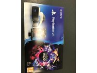 Playstation VR bundle with VR worlds sealed brand new