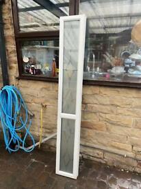 Upvc door window side panel