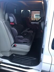 Vauxhall vivaro crew van 6 seater. Swap family estate