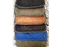 New with tags - chain detail clutch bag