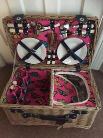 Brand new with tags picnic basket