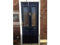composite front door ideal for shed £30