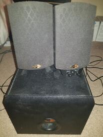 Klipsch ProMedia 2.1 THX speaker system - FAULTY