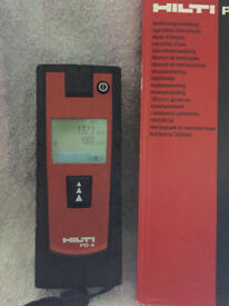 HILTI PD4 LASER MEASURE
