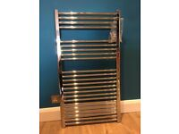 Excellent condition chrome towel radiator