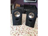 Kef iq10 bookshelf speakers