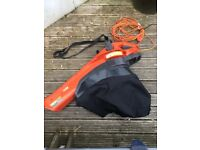 Flymo corded leaf blower/vacuum- very good condition