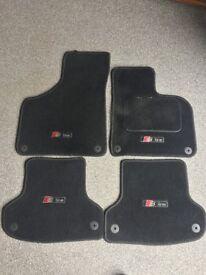 2012 Audi A3 S Line Mats (Black)