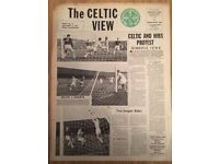 A Large Job Lot of Celtic View Newspapers (Very Rare) 1965-1970 Over 220 issues