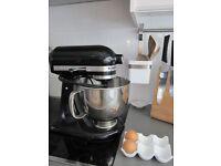 A Brand New Boxed Black KitchenAid Mixer
