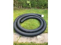10.25m of 160mm drainage pipe